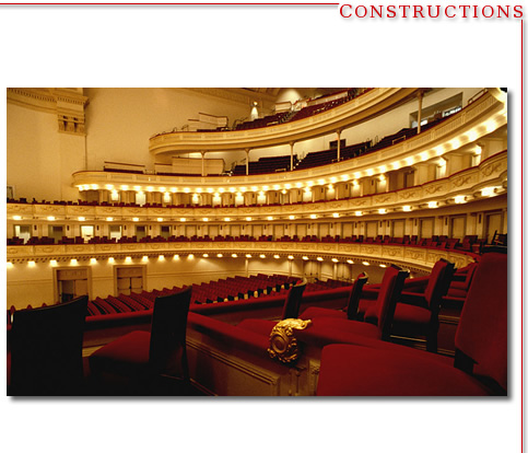 Carnegie Hall Renovation - NYC
